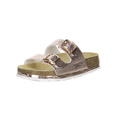 Superfit Hausschuh Fußbettpantoffel (Bronze)