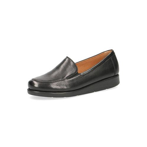 Caprice Komfort Slipper black zebra onAIR-Innensohle/auswechselbares Fußbett