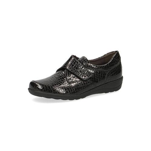 Caprice Halbschuh black croc onAIR-Innensohle/auswechselbares Fußbett