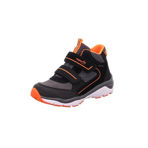 Superfit Lauflerner Sport5 (Schwarz/Orange) *Gore-Tex*