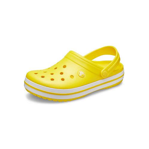 Crocs Crocband™ Clog in lemon-white / gelb-weiß