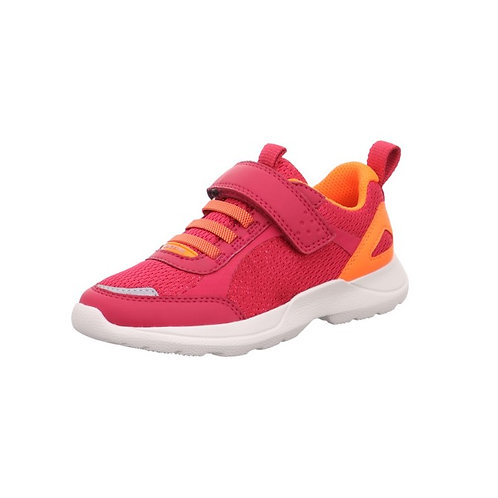 Superfit Halbschuh Rush in Rot/Orange