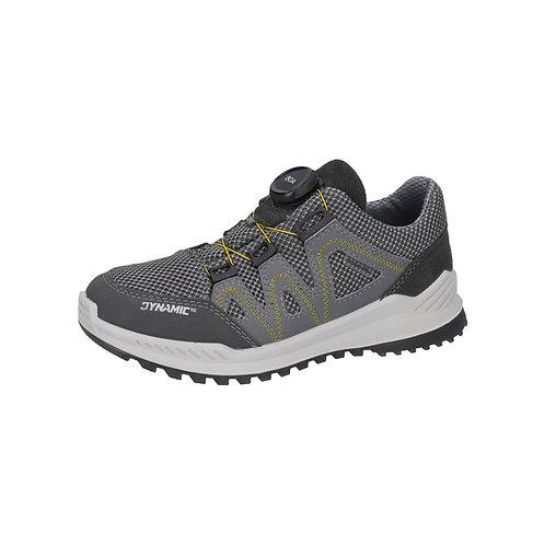 Ricosta® Sneaker LEED in  Graphit wasserdicht mit Ricosta-Tex