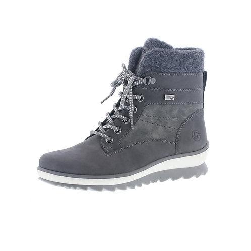 Remonte Damen Boot in Grau-Blau (Granit/Smoke) mit Tex-Membran
