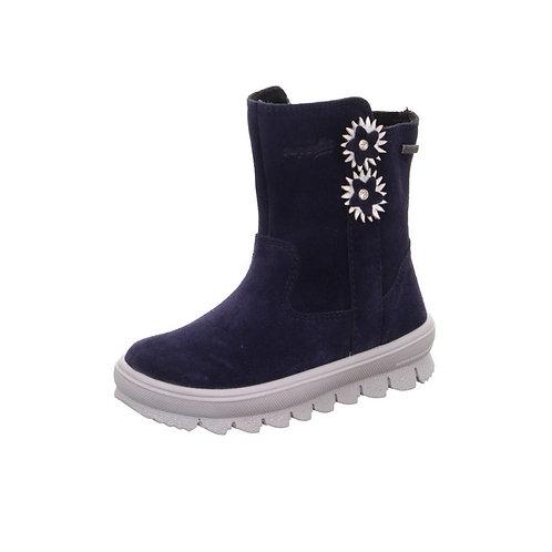 Superfit Stiefel Flavia wasserdicht mit Goretex und Reißverschluss in Blau