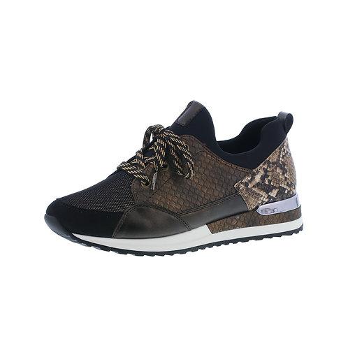 Remonte Damen Sneaker in schwarz-bronze (Braun)