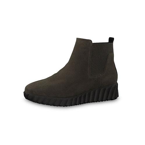 Tamaris Sneaker Halbhoch mit Reißverschluss in Olive