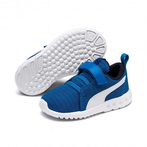 Puma Klett Sneaker Kinderschuh Carson 2 V PS Indigo Bunting in blau