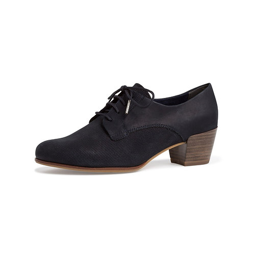 Tamaris Damen Schuh in Navy Nubuc