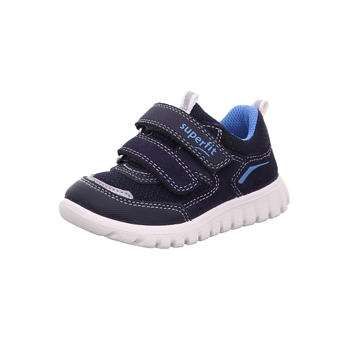 Superfit Halbschuh Lauflerner Sport7Mini in Blau/Blau
