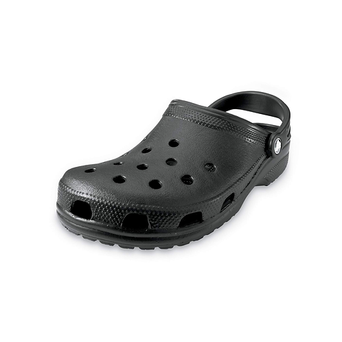 Crocs Classic Clog Unisex Black in Schwarz
