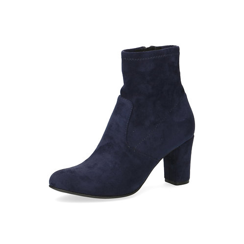 Caprice hohe Ancle Boots ocean stretch Luftpolsterinnensohle