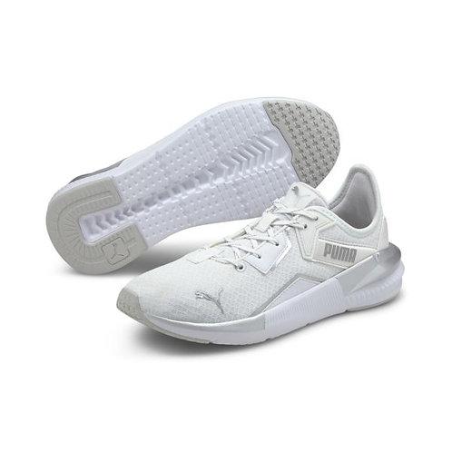 Puma Damen Sneaker in White/Silver (Weiß/Silber)