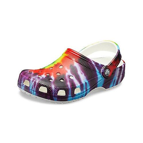 Crocs Tie-Dye™  Graphic Clog Unisex in Multicolor