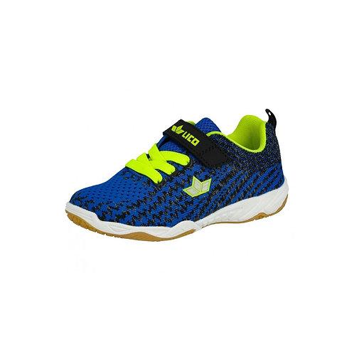 LICO Elmont VS Hallenschuh Sneaker in blau/schwarz/lemon