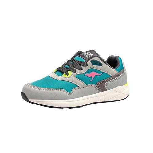 KangaROOS RK Ultimate Sneaker in Turquoise/Grey