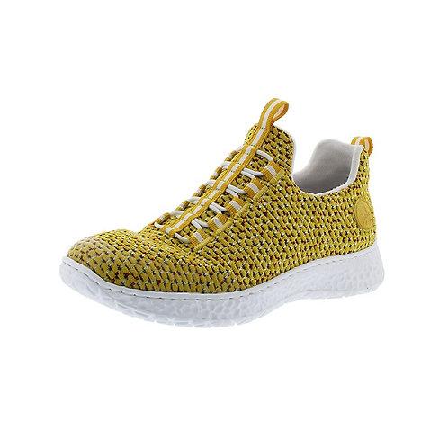Rieker Damen Sneaker in clear/yellow/sonne