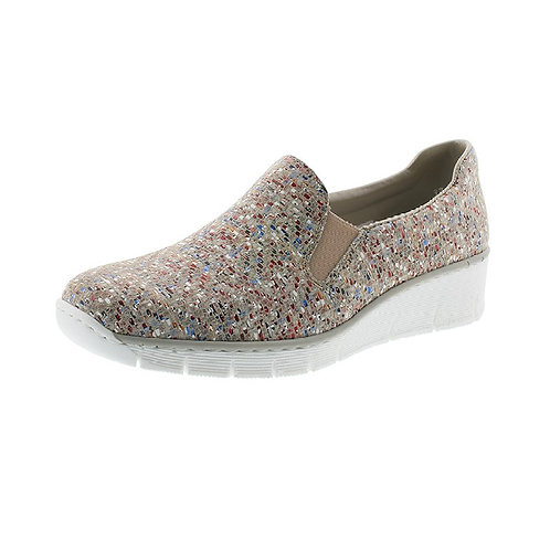Rieker Damen Slipper in beige
