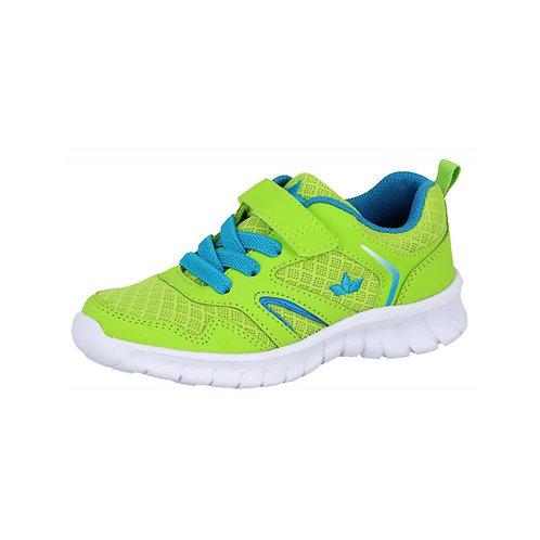 LICO SKIP VS Hallenschuh Sneaker lemon/blau