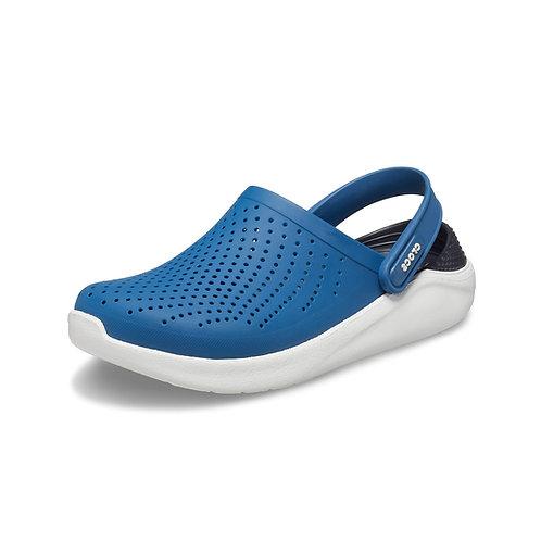 Crocs LiteRide™ Clog Unisex in Vivid Blue/Almost White