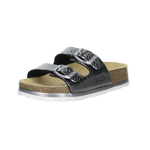 Superfit Hausschuh Fußbettpantoffel (Stone)