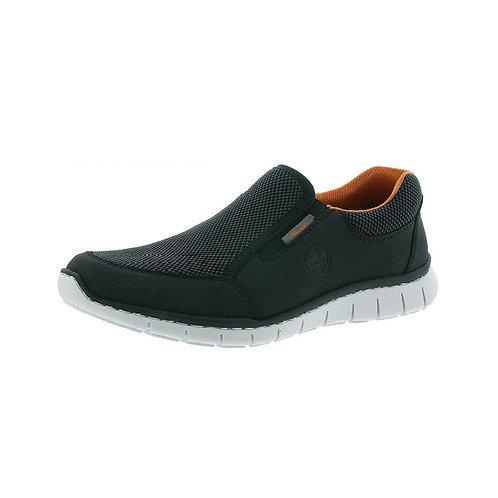 Rieker Herren Sneaker in schwarz/grau-schwarz