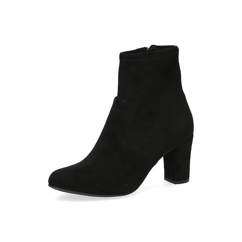 Caprice hohe Ancle Boots black stretch Luftpolsterinnensohle