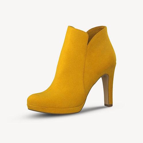 Tamaris Stiefelette Mustard Gelb Reißverschluss