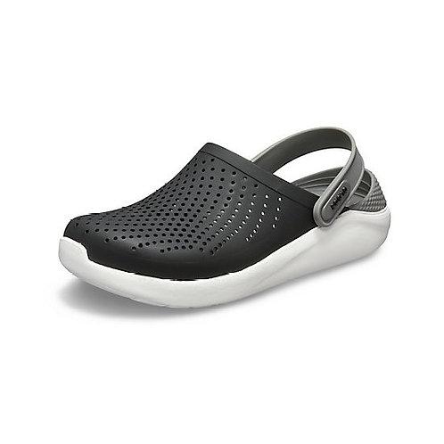 Crocs LiteRide™ Clog Unisex in Black/Smoke