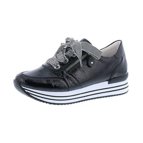 Remonte Damen Halbschuh Sneaker in nero/black