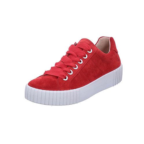 Romika Damen Sneaker Montreal S01 in rot mit Wechselfußbett
