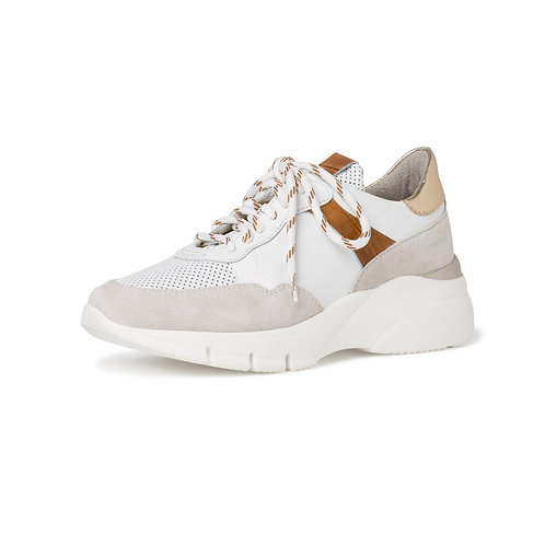 Tamaris Sneakerin in White Cognac (weiß)