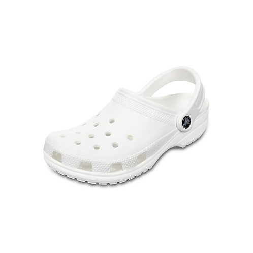 Crocs Classic Clog Unisex in White/Weiss