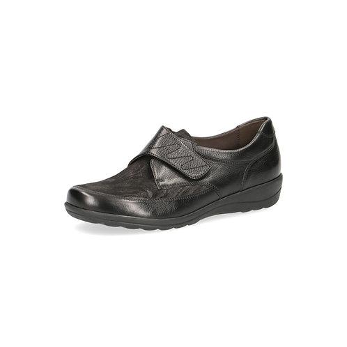 Caprice Halbschuh black zebra onAIR-Innensohle/auswechselbares Fußbett