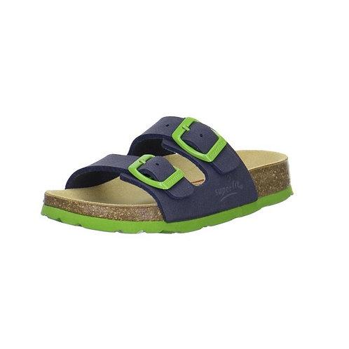 Superfit Hausschuh Fußbettpantoffel (Ocean Kombi)