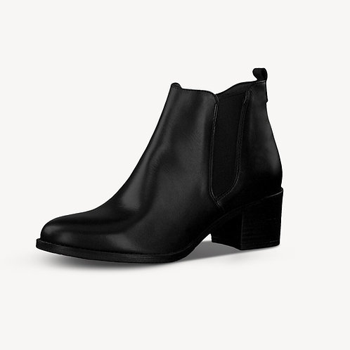 Tamaris Chelsea Boot Black schwarz Reißverschluss