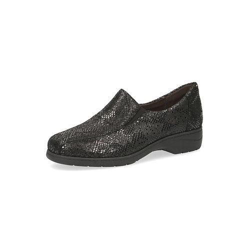 Caprice Halbschuh black snake onAIR-Innensohle/auswechselbares Fußbett