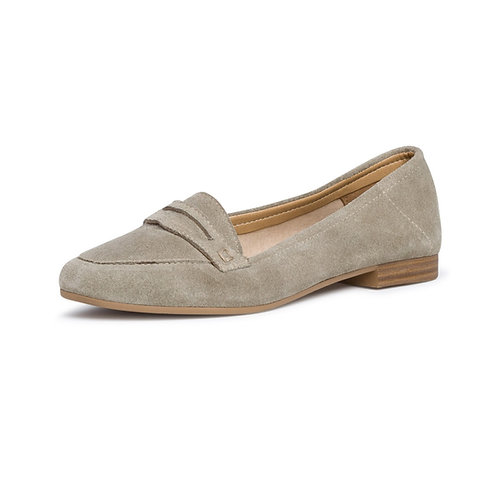 Tamaris Ballerina Slipper in Sage (beige)