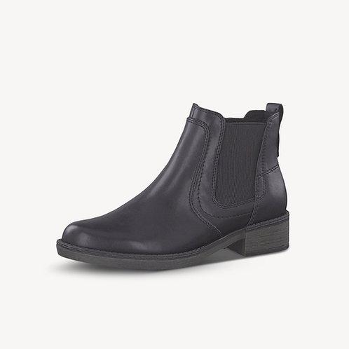 Tamaris Chelsea Boot BLACK Uni schwarz 35mm Absatz