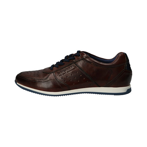 Bugatti Herren Sneaker Tomeo in mid-brown/blue