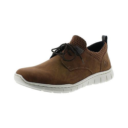 Rieker Herren Sneaker in mandel/brown-black/kakao