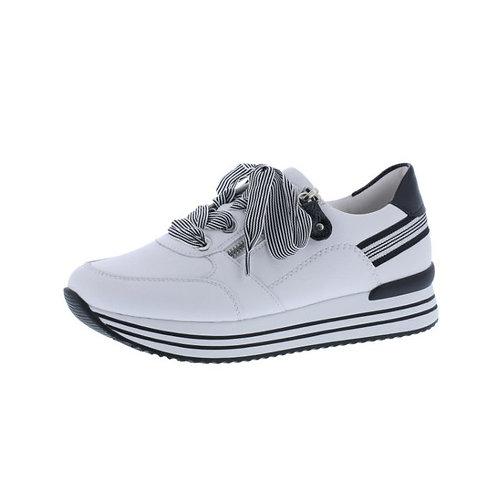 Remonte Damen Halbschuh Sneaker in weiss/black