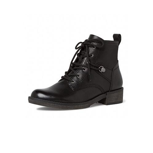 Tamaris Stiefelette in schwarz (Black) mit Reißverschluss