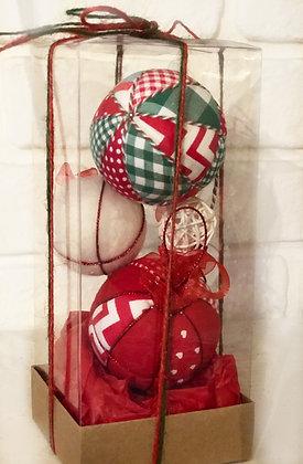 ARMONI SERİSİ - 1 / Kapitone yılbaşı topu - Quilted Ornaments