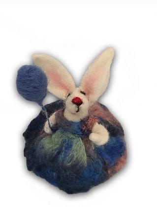 Tavşah Hanım - balonlu / Miss Lilly Rabbitwith baloon