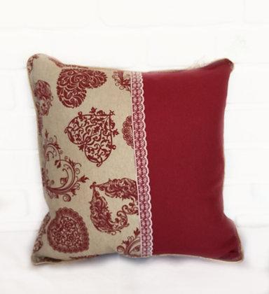 Dantelli Bordo / Lacy Claret Red