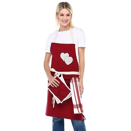Aşk Mutfak Önlük Takımı
