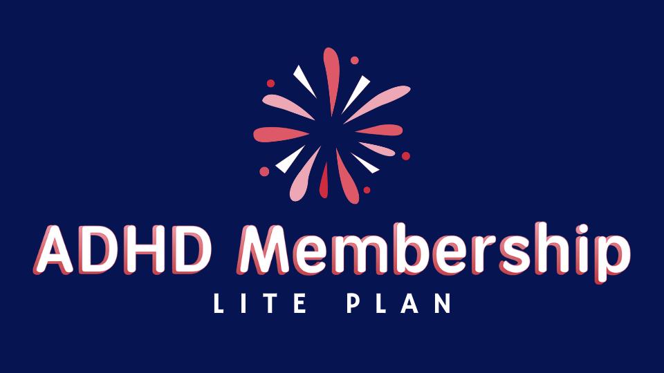 ADHD Membership - Lite Plan
