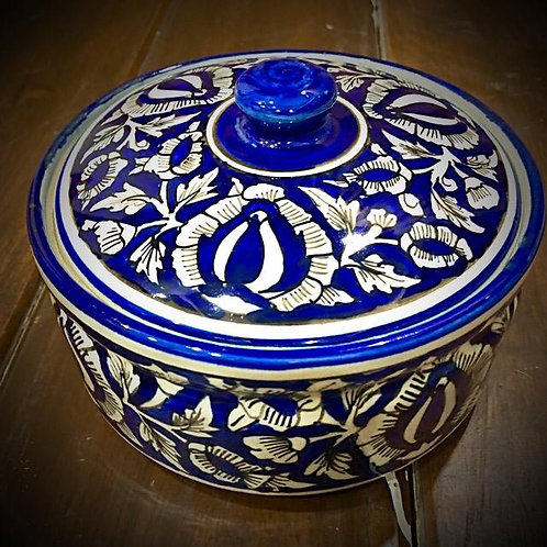 Festive Traditional Curd Pot With Lid (Small)