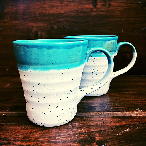Calming Green Coffee Mug - Set of 2